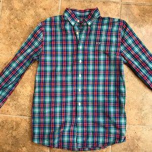 Vineyard Vines Whale Shirt - Boy's Size Large